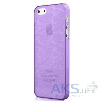 Чехол Vouni Ultra Slim Apple iPhone 5, iPhone 5S, iPhone 5SE Purple