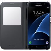 Вид 3 - Чехол Samsung S View Cover Series G930 Galaxy S7 Black (EF-CG930PBEGRU)