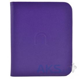 Обложка (чехол) Barnes&Noble Leather Case for Nook Touch Purple