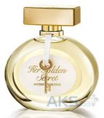Вид 2 - Antonio Banderas Her Golden Secret Туалетная вода 80 ml