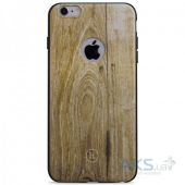 Чехол Hoco Element Series Wood Grain Apple iPhone 6, iPhone 6S Champagne