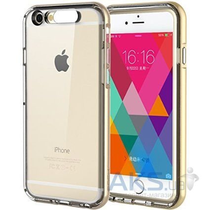 Чехол Rock TPU Tube Series Apple iPhone 6, iPhone 6S Gold