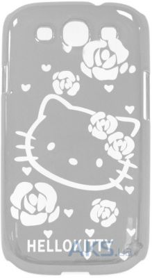 Чехол Hello Kitty Letter Case for Samsung i9300 Silver