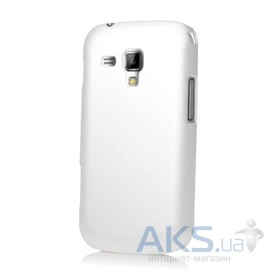 Чехол Plastic cover case for Samsung S7562 White