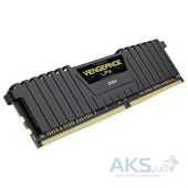 Оперативная память Corsair DDR4 4GB 2400Mhz Vengeance LPX Black (CMK4GX4M1A2400C14)
