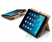 Вид 3 - Чехол для планшета Zenus iPad Air Leather Case Masstige Leather E-Note Diary Series Camel