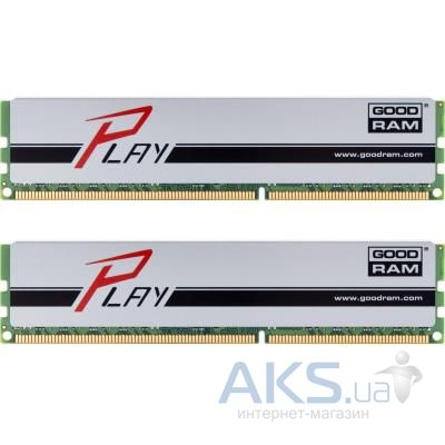 Оперативная память GooDRam DDR3 8GB (2x4GB) 1866 MHz PLAY Silver (GYS1866D364L9AS/8GDC)