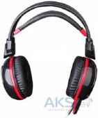 Вид 2 - Гарнитура для компьютера A4Tech Bloody G300 Black/Red