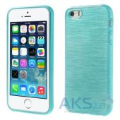 Чехол Original TPU Pearl Lines Apple iPhone 5, iPhone 5S, iPhone 5SE Turquoise