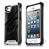 Чехол ITSkins Fusion Alu Core for iPhone 5/5S Black/White (APH5-FUSAL-BKWH)
