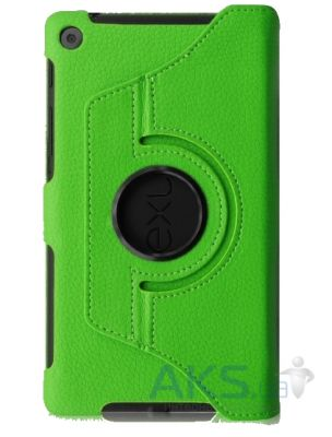 Чехол для планшета TTX leatherette case Asus Google Nexus 7 New Green
