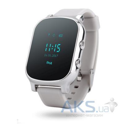 ▷ Купити Дитячий розумний годинник (з GPS) GoGPS ME К20 хром (К20ХР ... 582b6cf09a252