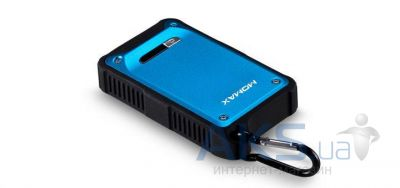 Внешний аккумулятор Momax iPower Tough 2 power bank 9000 mAh, [BAIPOWER29B] Blue