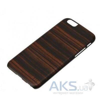 Чехол Man'n'wood Case Wood iPhone 6, iPhone 6S Ebony/Black (M1417B)