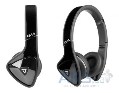 Наушники (гарнитура) Monster DNA On-Ear Headphones Black with Satin Chrome/Dark Grey (MNS-128901-00)