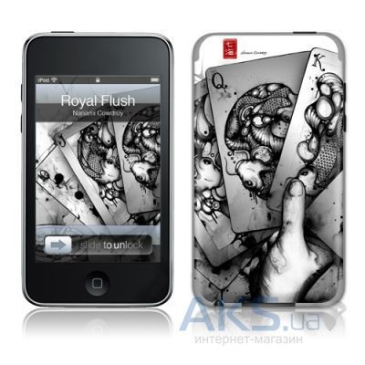 Защитная пленка GelaSkins Royal Flush for iPod touch 2G/3G
