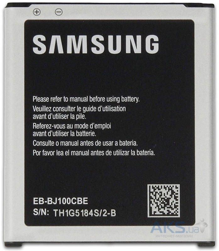 Аккумулятор Samsung J100H Galaxy J1 Duos / EB-BJ100CBE (1850 mAh) Original