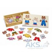 Игрушка Melissa and Doug Одень семью медведей 3770