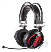 Вид 2 - Наушники (гарнитура) E-blue Cobra HS Gaming Headset Black (EHS013RE)