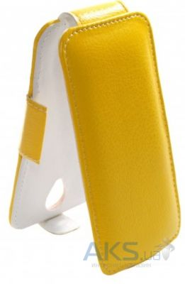 Чехол Sirius Flip case for Lenovo A606 Yellow