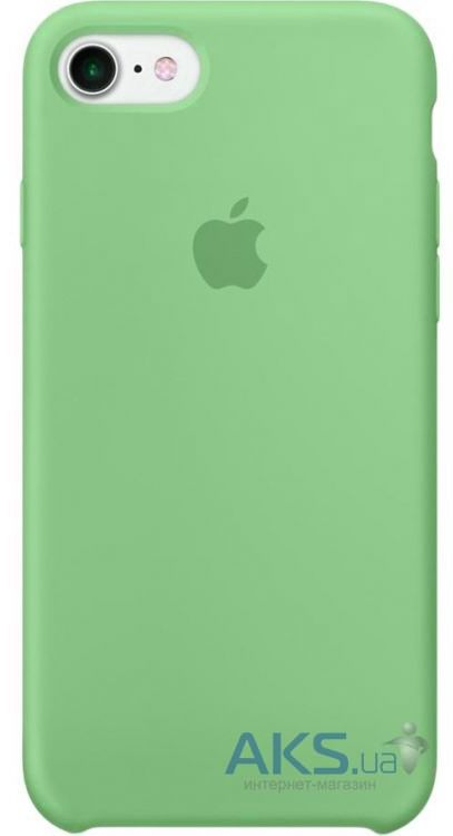 Чехол Apple Silicone Case iPhone 7, iPhone 8 Mint_HC