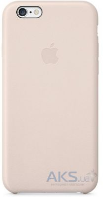 Чехол Apple Leather Case for iPhone 6S Rose Gray (MKXV2)
