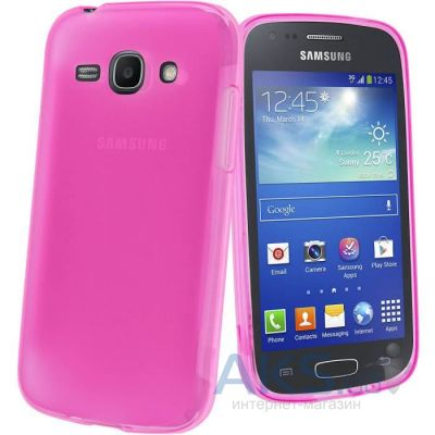 Чехол Celebrity TPU cover case for Samsung  S7270 Galaxy Ace 3 Pink