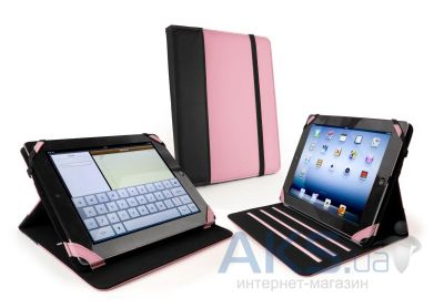 Чехол для планшета Tuff-Luv Slim-Stand Faux Leather Case Cover for iPad 2,3,4 Pink/Black (C10_62)