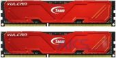 Оперативная память Team DDR-3 8GB (2x4GB) 1866 MHz Vulcan Red (TLRED38G1866HC11DC01)