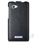 Вид 3 - Чехол Melkco Jacka Light PU leather case for Lenovo A880 Black (LNA880LCJT1BKPULC)