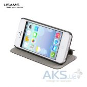 Чехол Usams Book case Starry Sky for Apple iPhone 5C Black