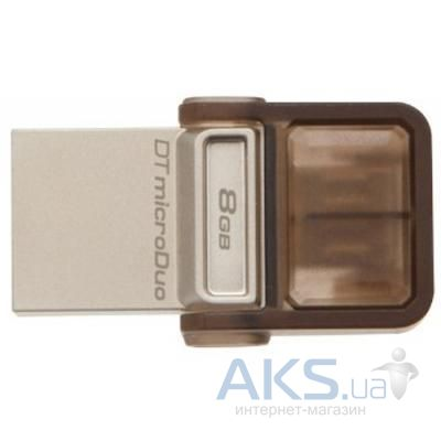 Флешка Kingston 8Gb DT MicroDuo (DTDUO/8GB) Brown