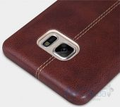 Вид 2 - Чехол Nillkin Englon Series Samsung N930 Galaxy Note 7 Brown