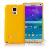 Чехол Mercury Jelly Color Series Samsung N910 Galaxy Note 4 Yellow