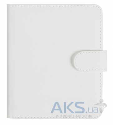 Обложка (чехол) Korka Classical White (NOS-Clas-leath-wh) для NOOK Simple Touch