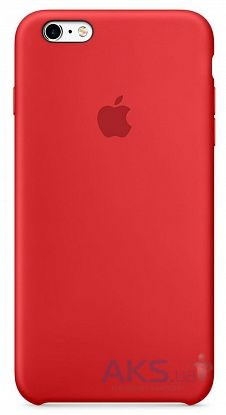 Apple Silicone Case Apple iPhone 6 Plus, iPhone 6S Plus Red (MGRG2_HC)
