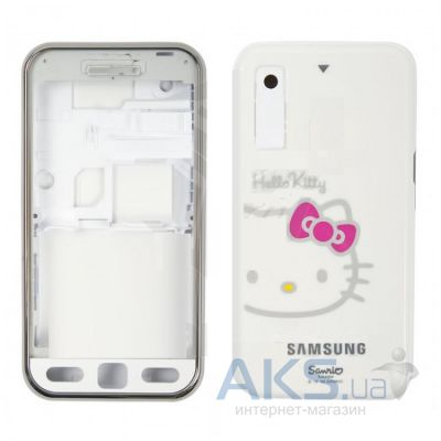Корпус Samsung S5230 Star WiFi White Kitty