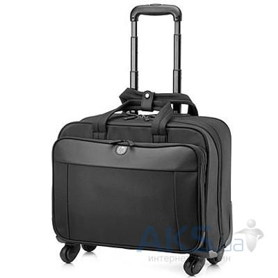 Сумки для ноутбуков HP 17.3 Business 4 wheel Roller Case  (H5M93AA) black