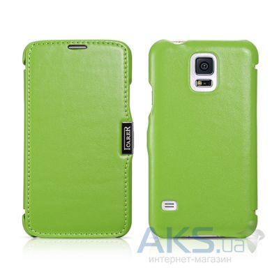 Чехол iCarer Side-open Luxury for Samsung G900 Galaxy S5 Green