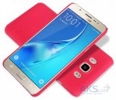 Вид 3 - Чехол Nillkin Super Frosted Shield Samsung J710 Galaxy J7 2016 Red