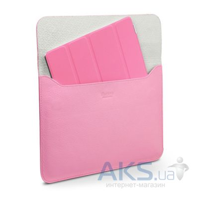 Чехол для планшета SGP Leather Case illuzion Sleeve Series Sherbet Pink for iPad Air (SGP07631)