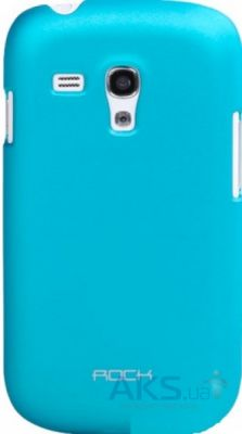 Чехол Rock Samsung I8190 Galaxy S III mini Naked Shell Series Blue