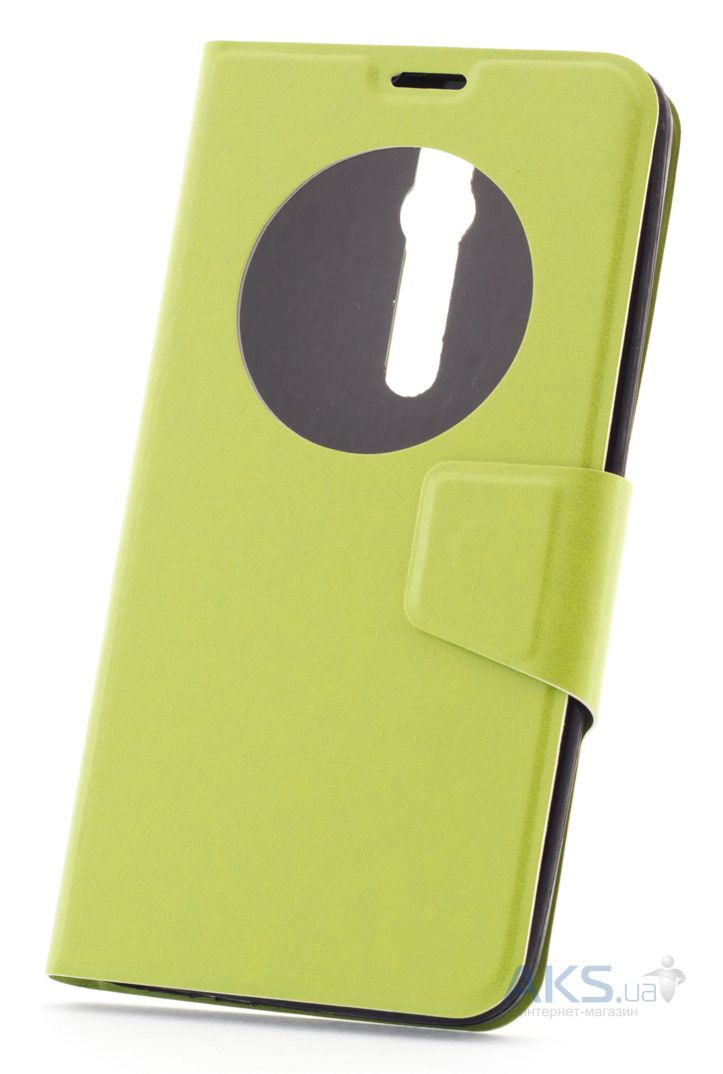 Чехол Book Cover TPU Asus Zenfone 2 ZE551ML, ZE550ML Green