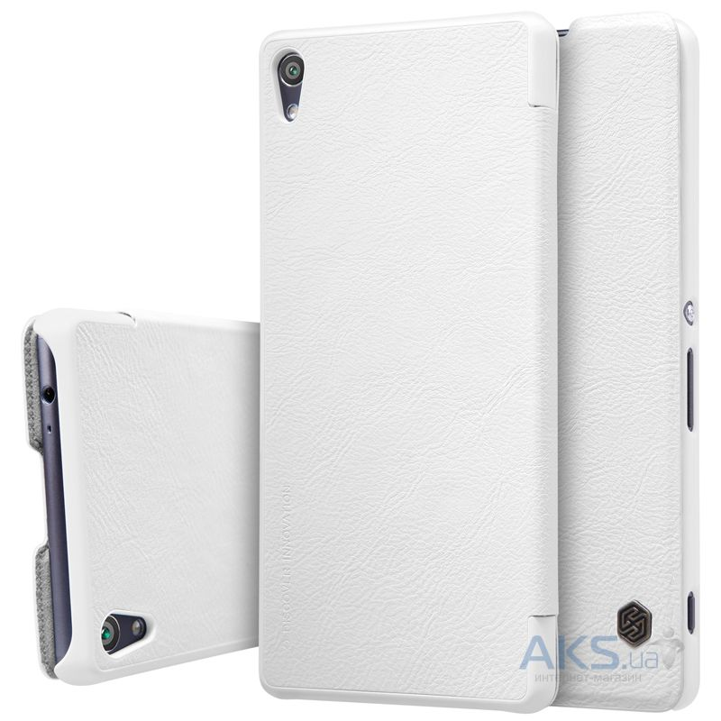 Чехол Nillkin Qin Leather Series Sony Xperia XA Ultra White
