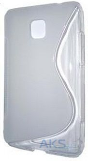 Чехол Original TPU Duotone LG E425 Optimus L3 ll Transparent Matte