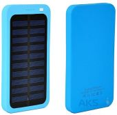 Внешний аккумулятор power bank MANGO Solar SLIM 1USB 6000 mAh Blue