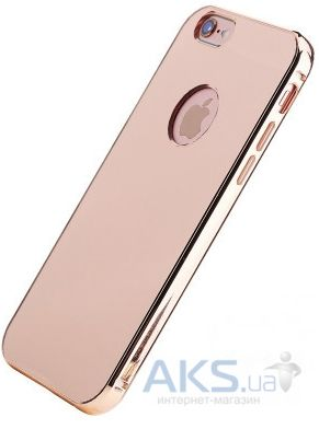 Чехол Rock Infinite Mirror Series Apple iPhone 6, iPhone 6S Rose Gold