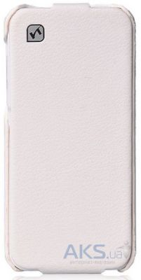 Чехол Hoco Duke flip leather case for iPhone 5C White (HI-L039)