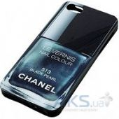 Вид 2 - Чехол Chanel Le Vernis Apple iPhone 5, iPhone 5S, iPhone SE Black Perl