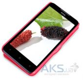 Вид 2 - Чехол Nillkin Fresh Leather Series HTC Desire 516 Red